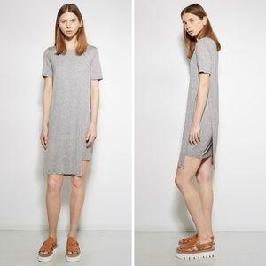 Acne Studios Grey Obelia Tencel Tee Dress